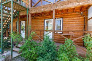 Наши деревянные домики.